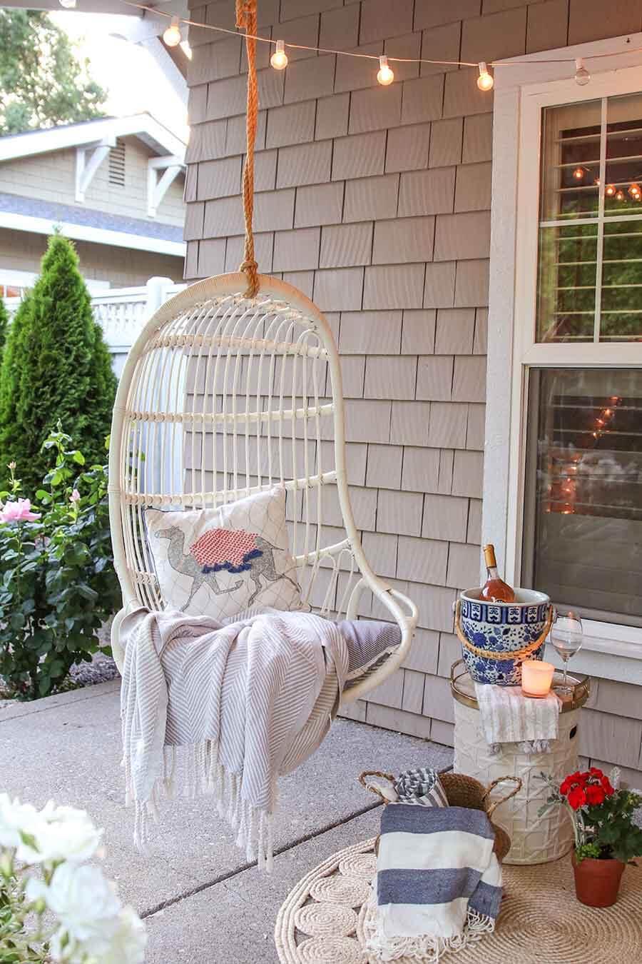 Soft Hanging Outdoor Hammock Chair