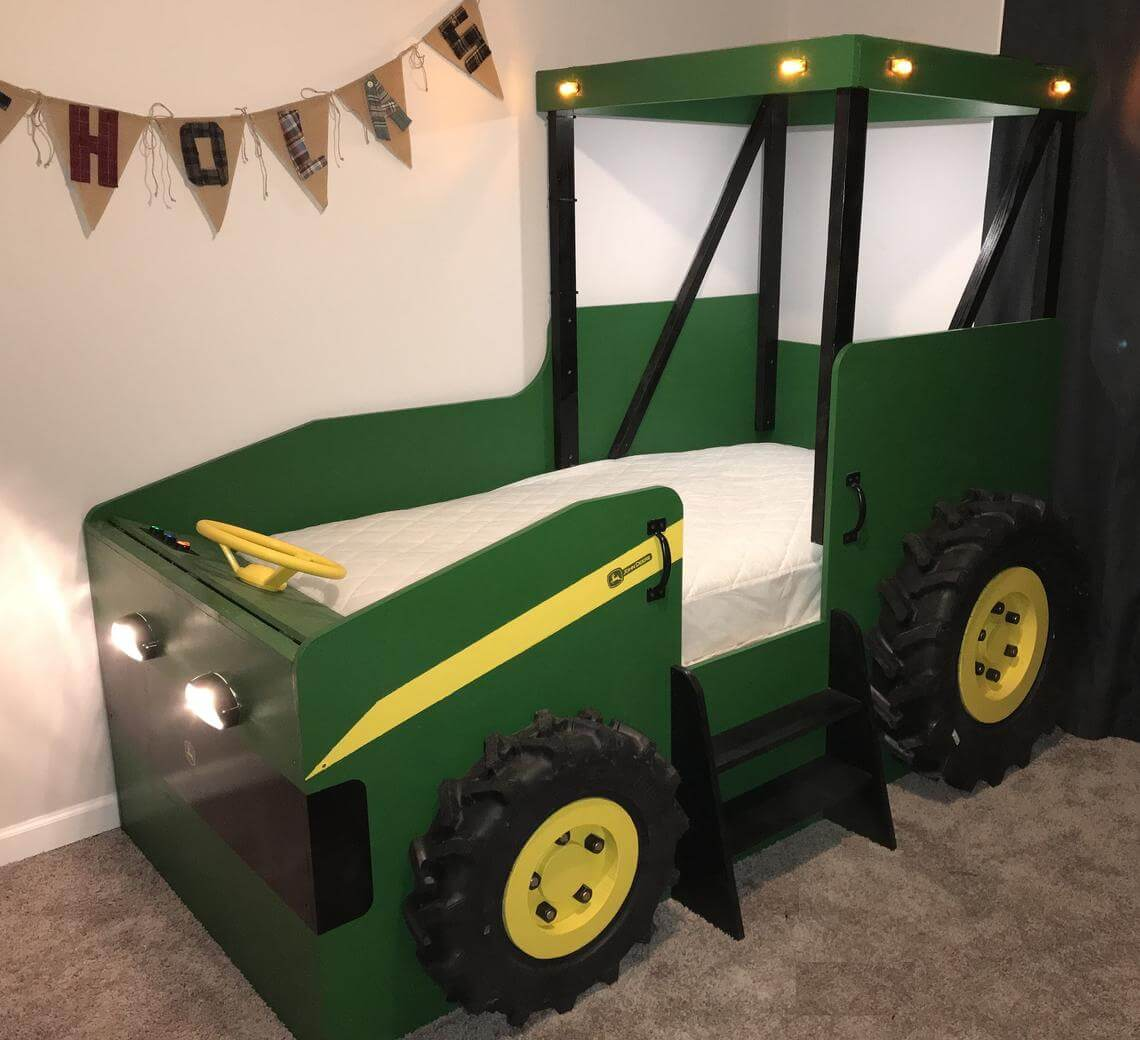 Farm Style Tractor Bed Plans