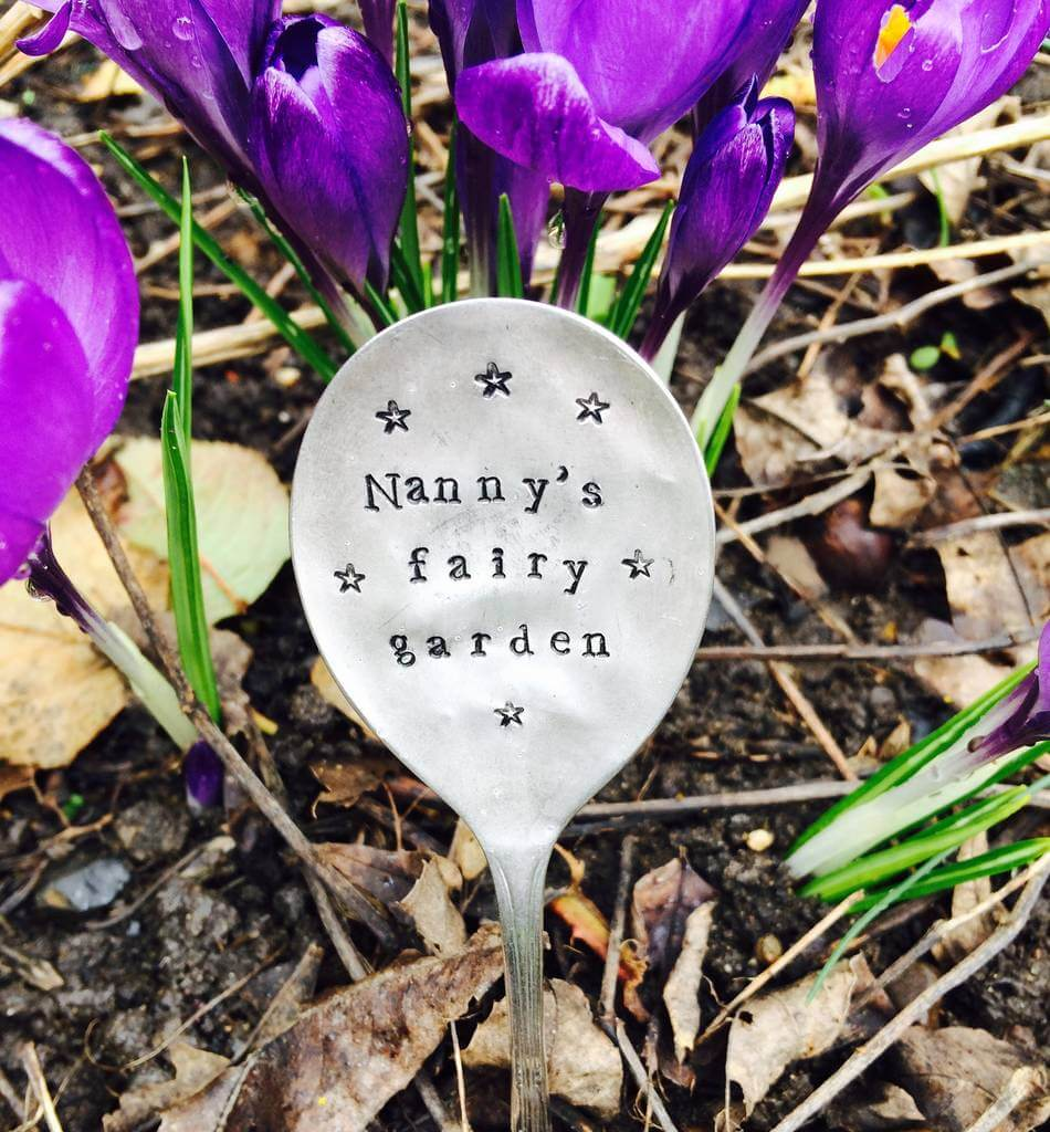Cute and Customized Spoon Herb Marker