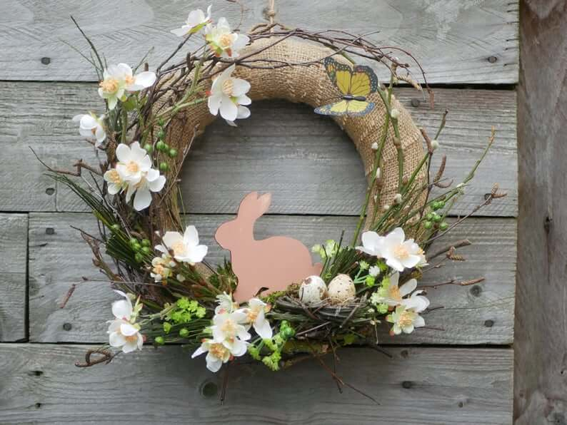 Spring Has Bloomed with Butterflies and Bunnies