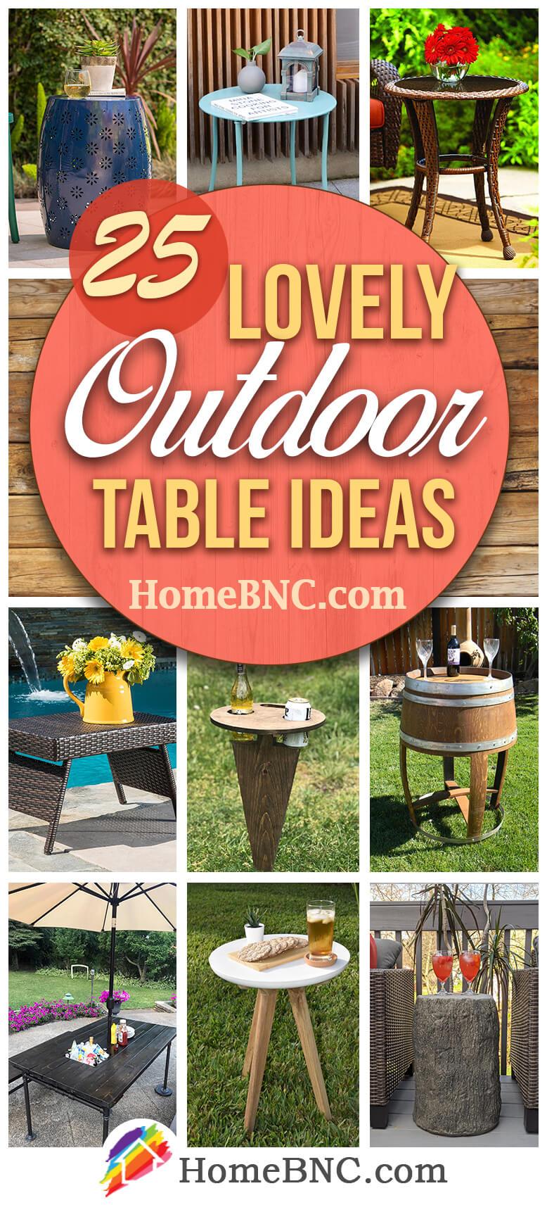 Best Outdoor Table Ideas