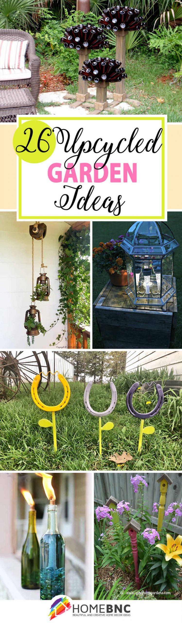 Best Upcycled Garden Ideas