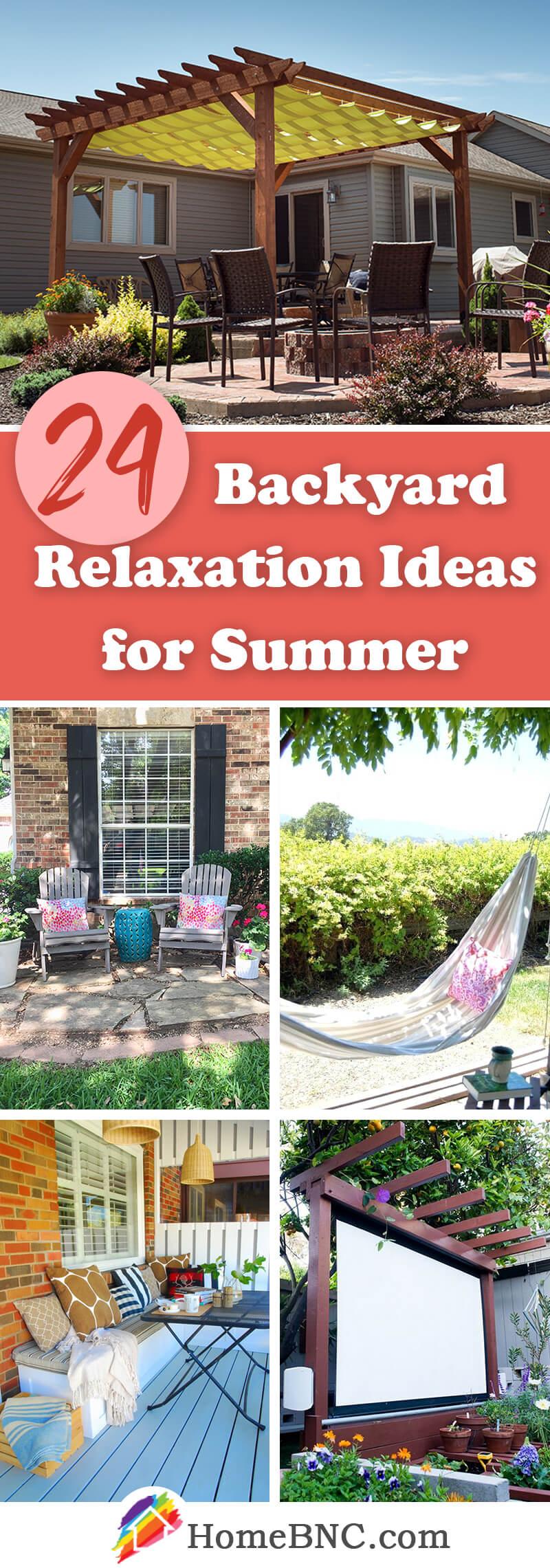 Backyard Relaxation Ideas