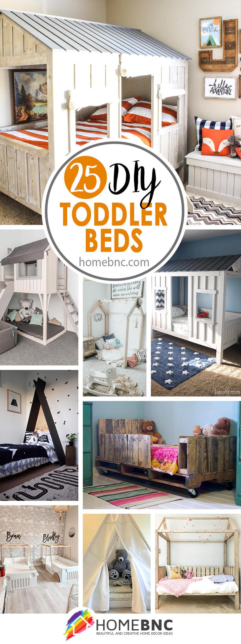 Best DIY Toddler Bed Ideas