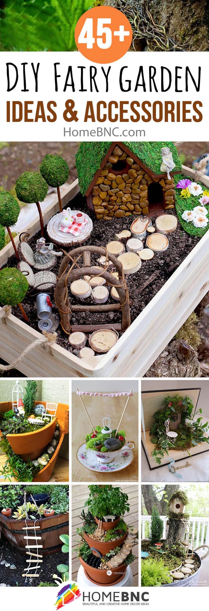 DIY Fairy Garden Accessories