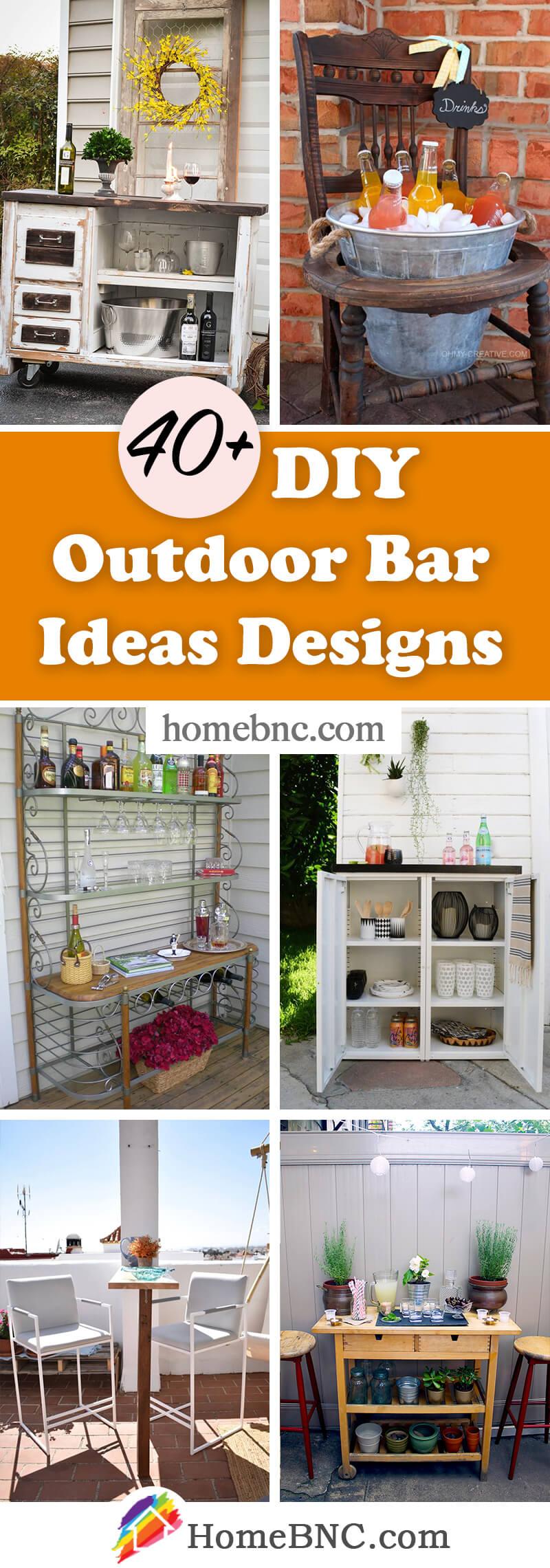 DIY Outdoor Bar Designs