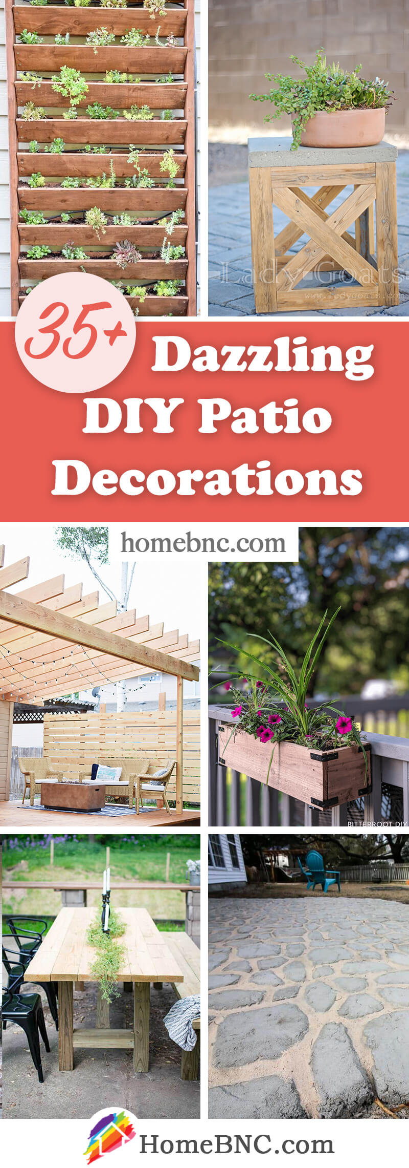 DIY Patio Decor Ideas