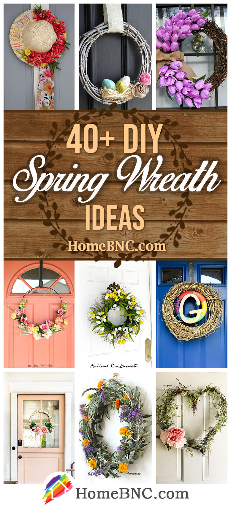 40 Best Diy Spring Wreath Ideas And