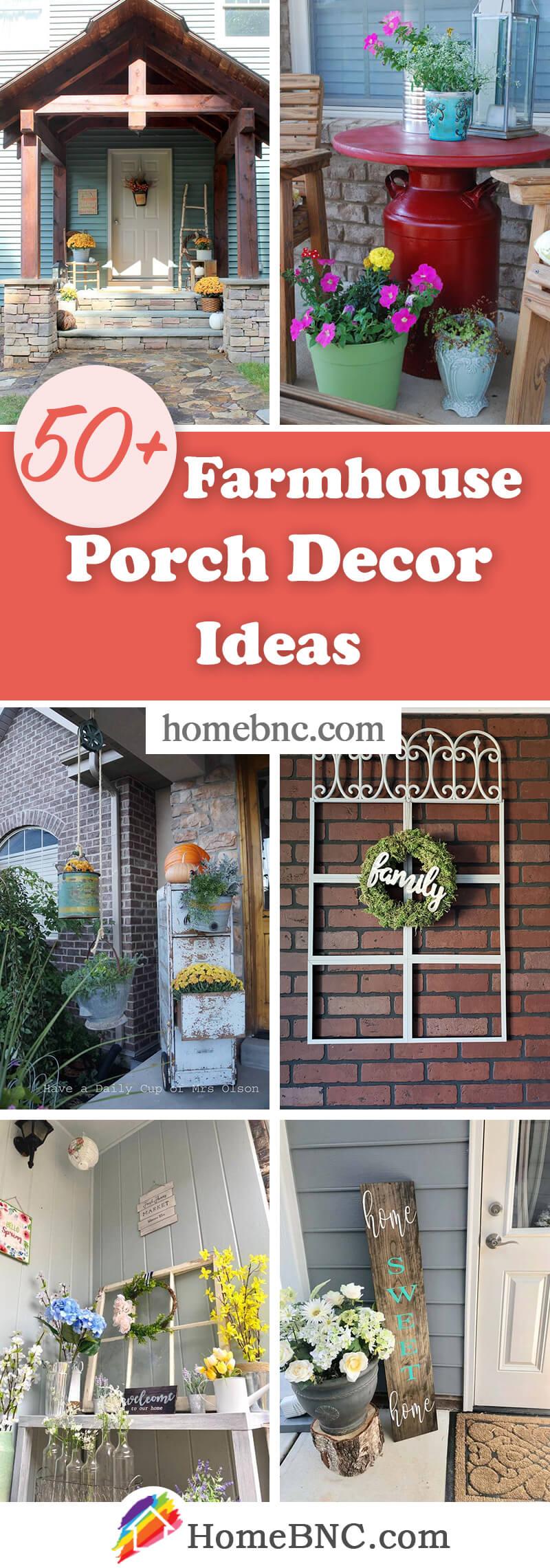 Rustic Farmhouse Porch Decor Ideas