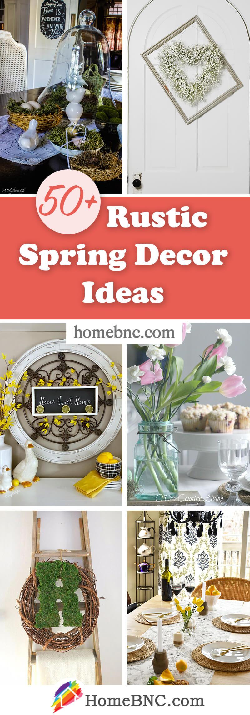 Rustic Farmhouse Spring Decor Ideas