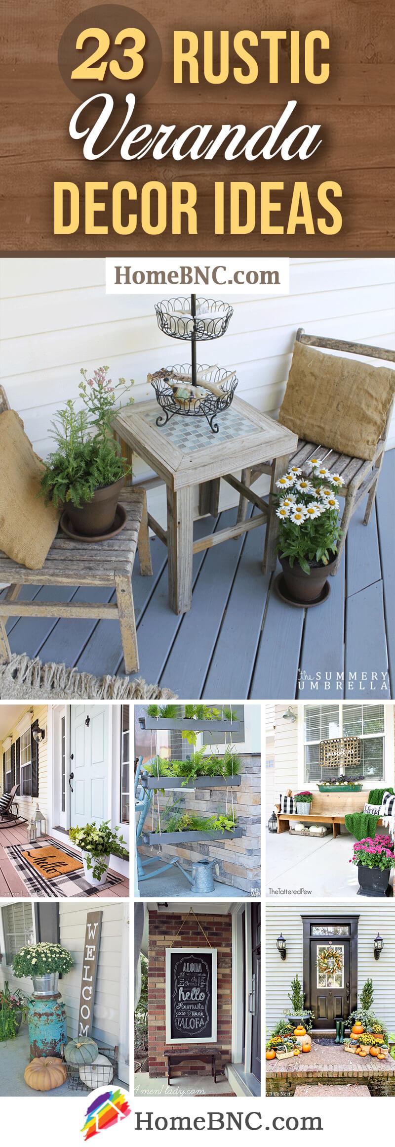 Rustic Veranda Design Ideas