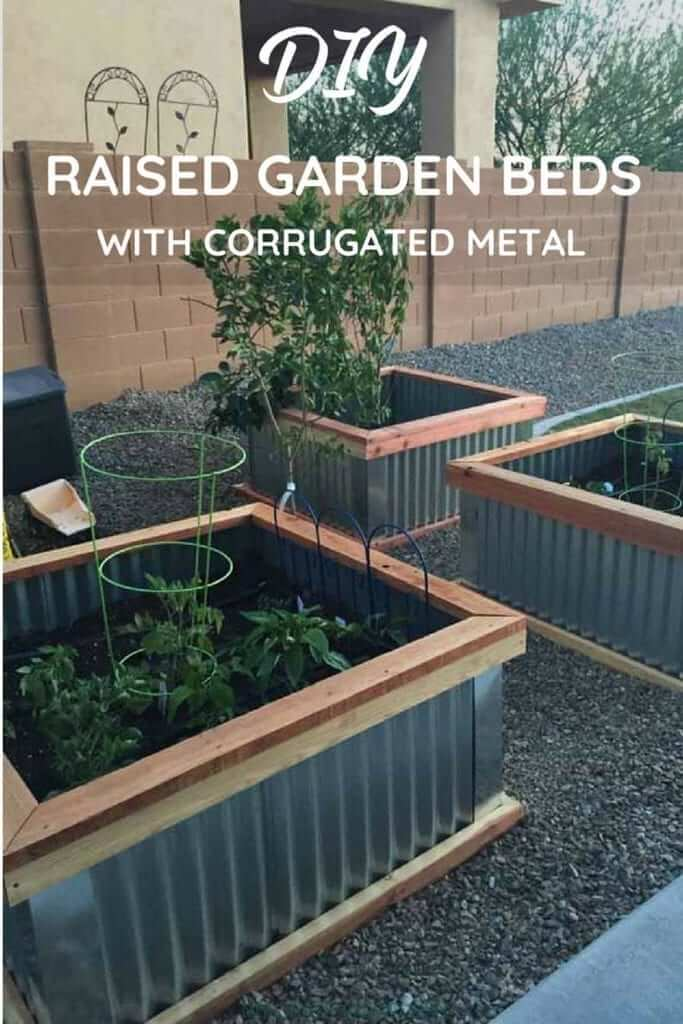 The Corrugated Metal Raised Garden Bed