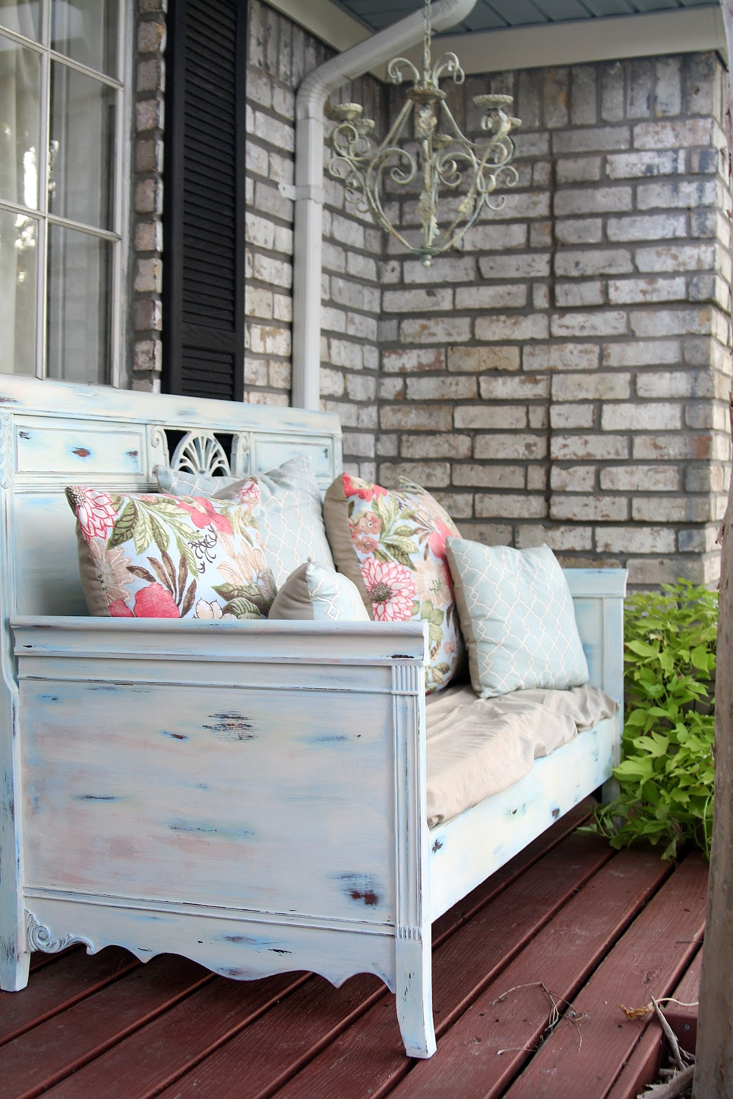 Shabby Chic Upcycled Chair Bench