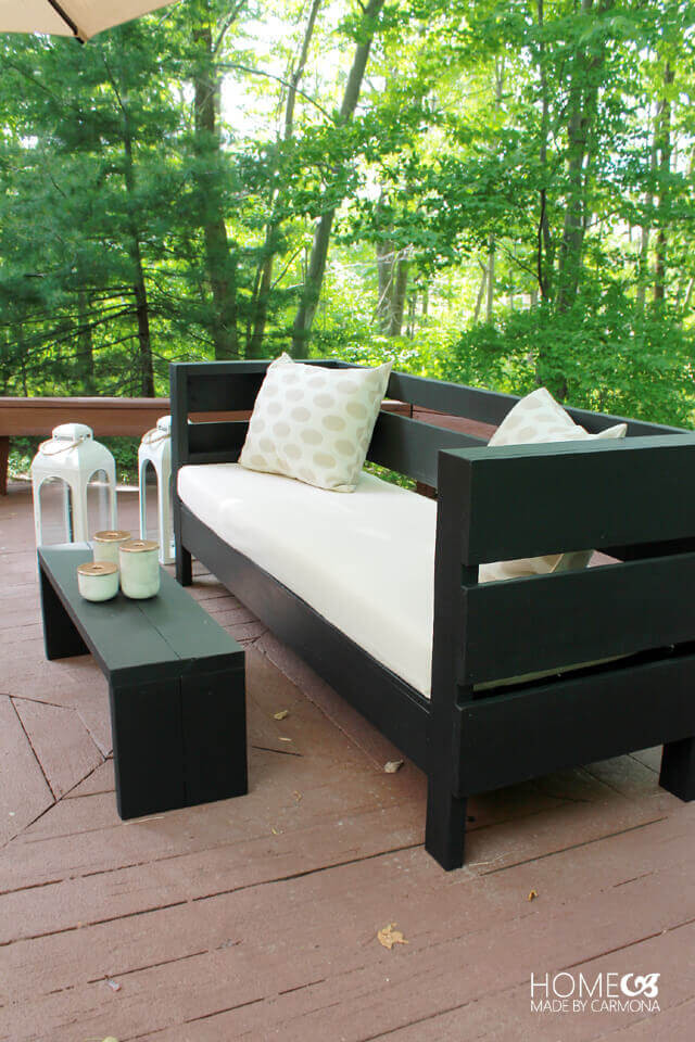 Outdoor Deck Pallet Wood Couch