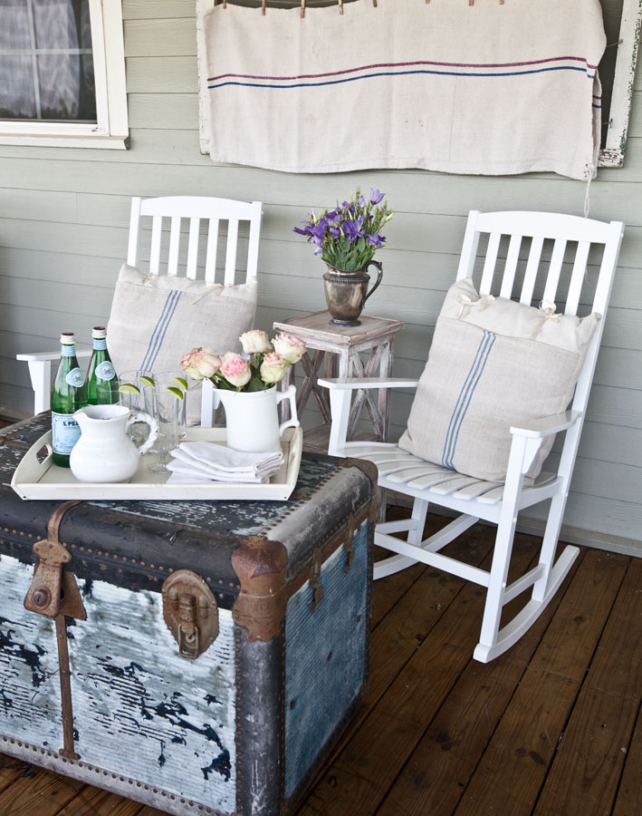 Old Fashioned Comfortable Seating Area