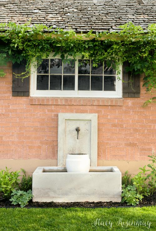 Backyard Oasis Concrete Watering Hole
