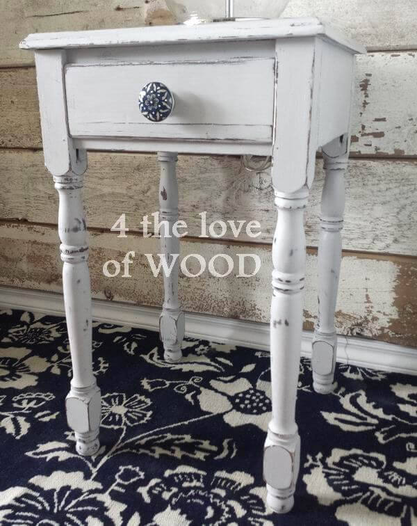 Rustic Farmhouse Style Side Tables