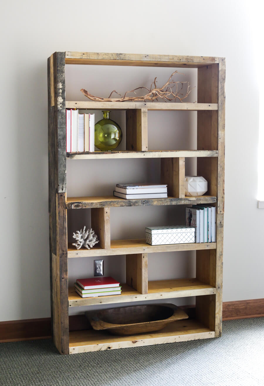 Mix Reclaimed Pallets with Crates