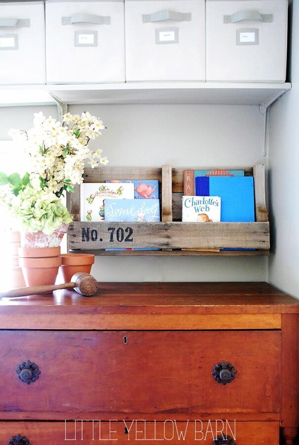 Wall Mounted Book Shelving