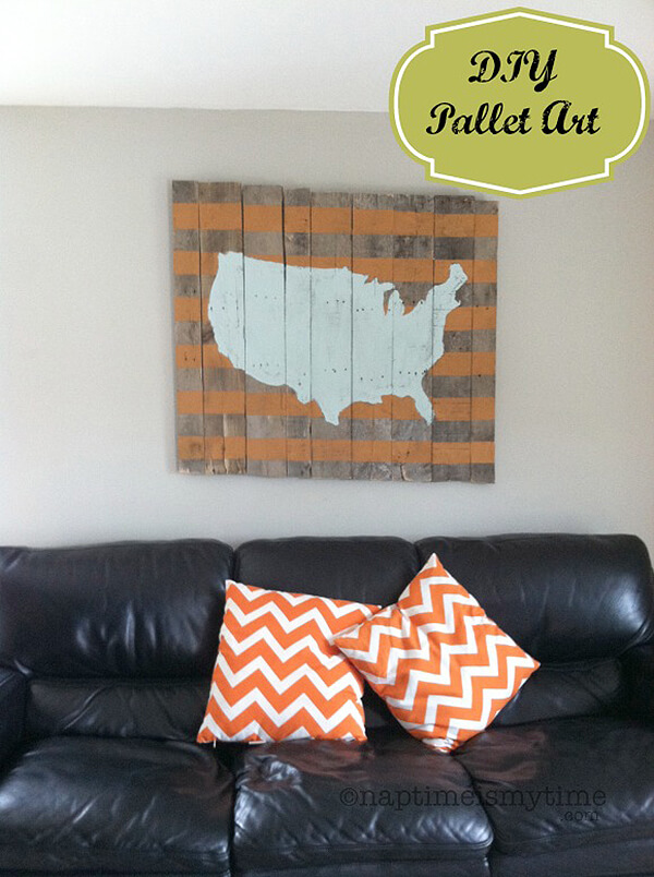 A Perfect Way to Display USA