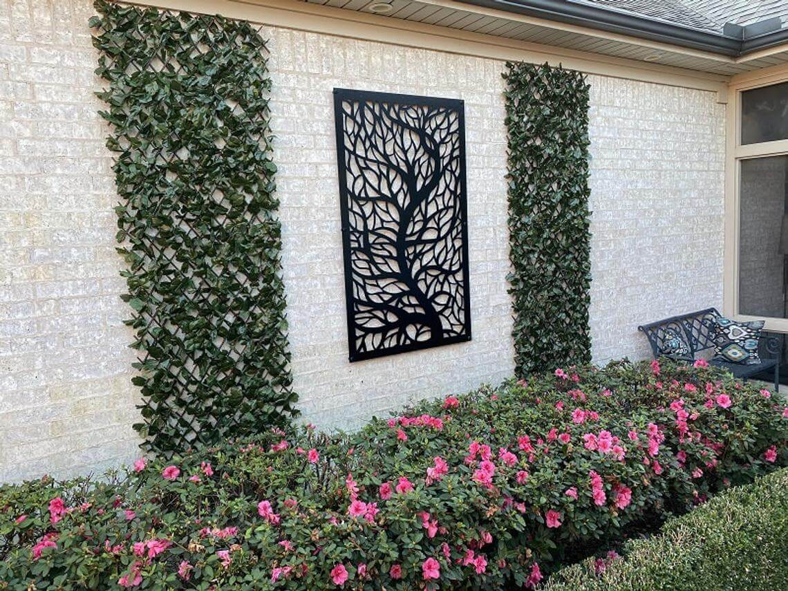 Decorative Outdoor Metal Privacy Screen