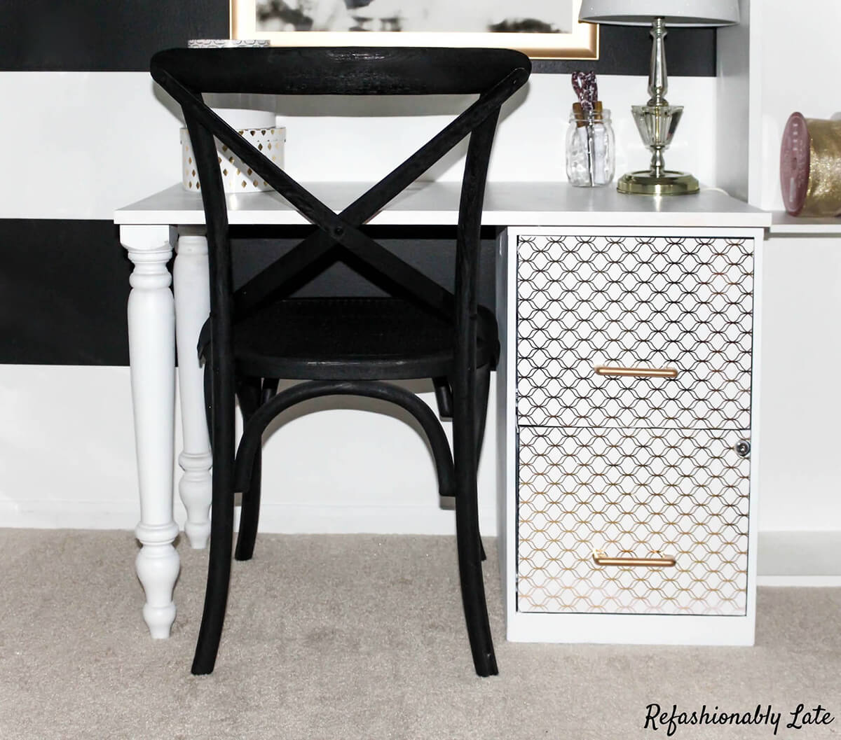 Stylish and Contemporary File Cabinet