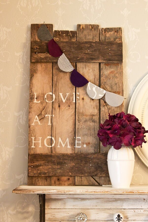 A Great Way to Display Love at Home