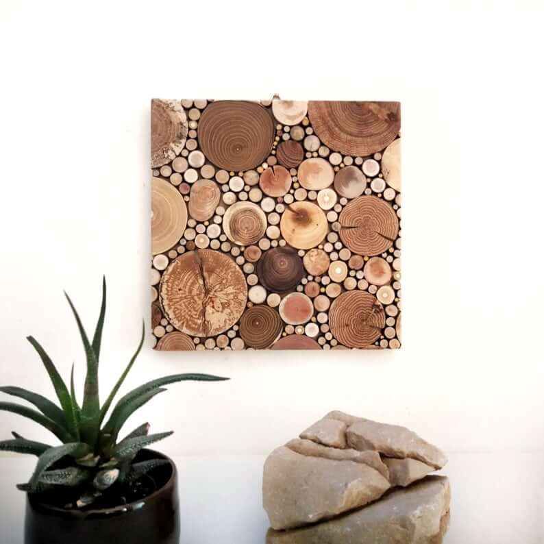 Circles and Squares: Fun Geometric Wall Art