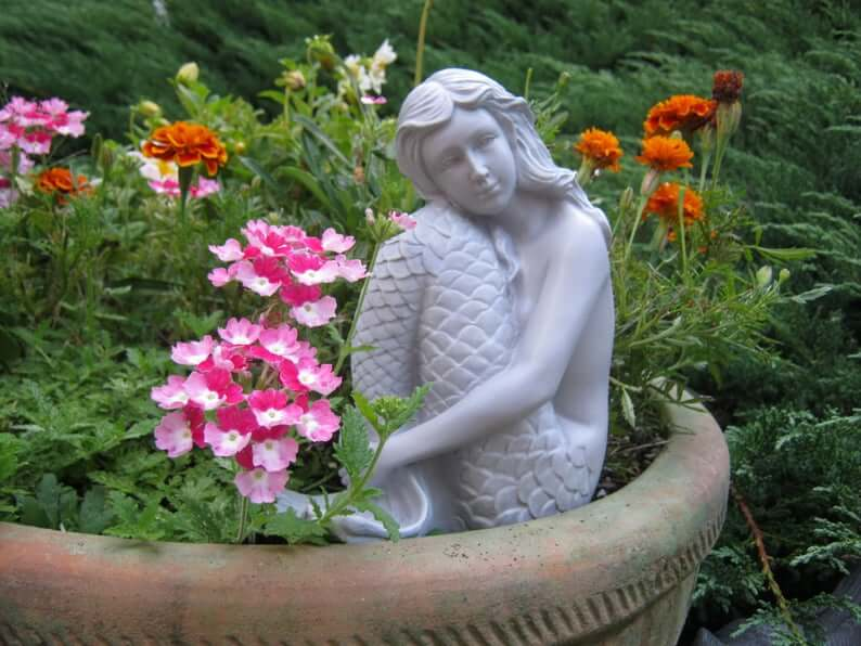 Magnificent Mermaid Sculpture for the Garden