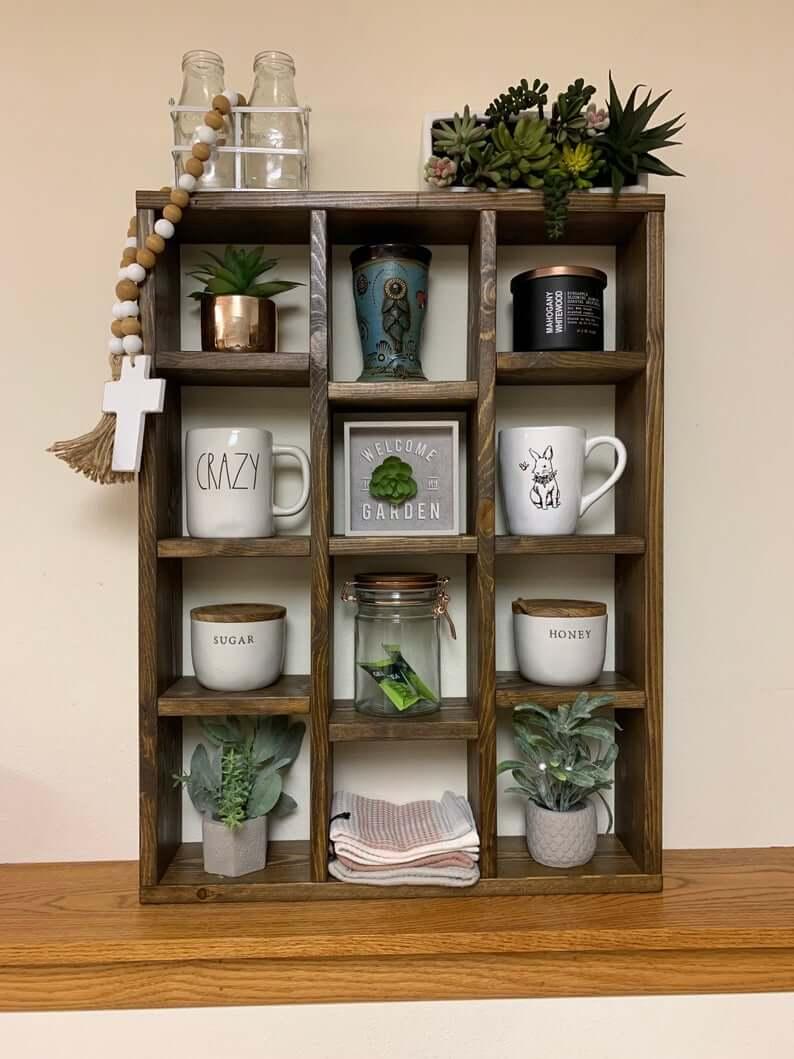 Decorative Boxed Shelf Coffee Mug Hotel