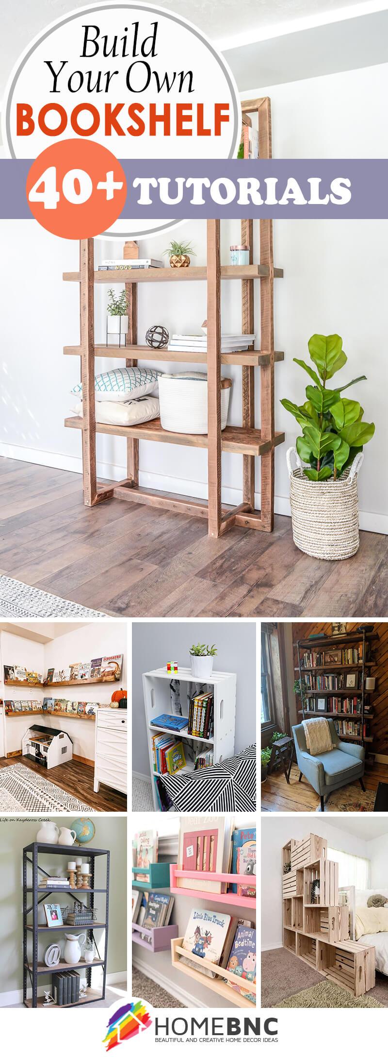 DIY Bookshelf Tutorials
