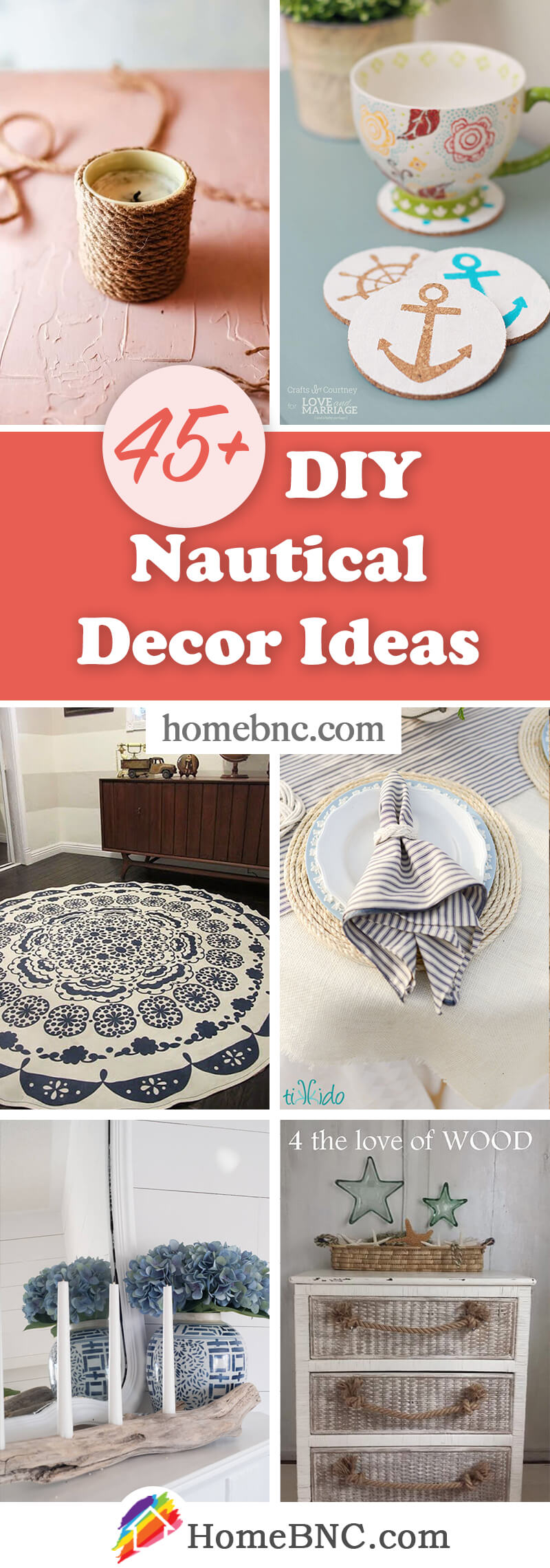 Cheap DIY Nautical Decorations