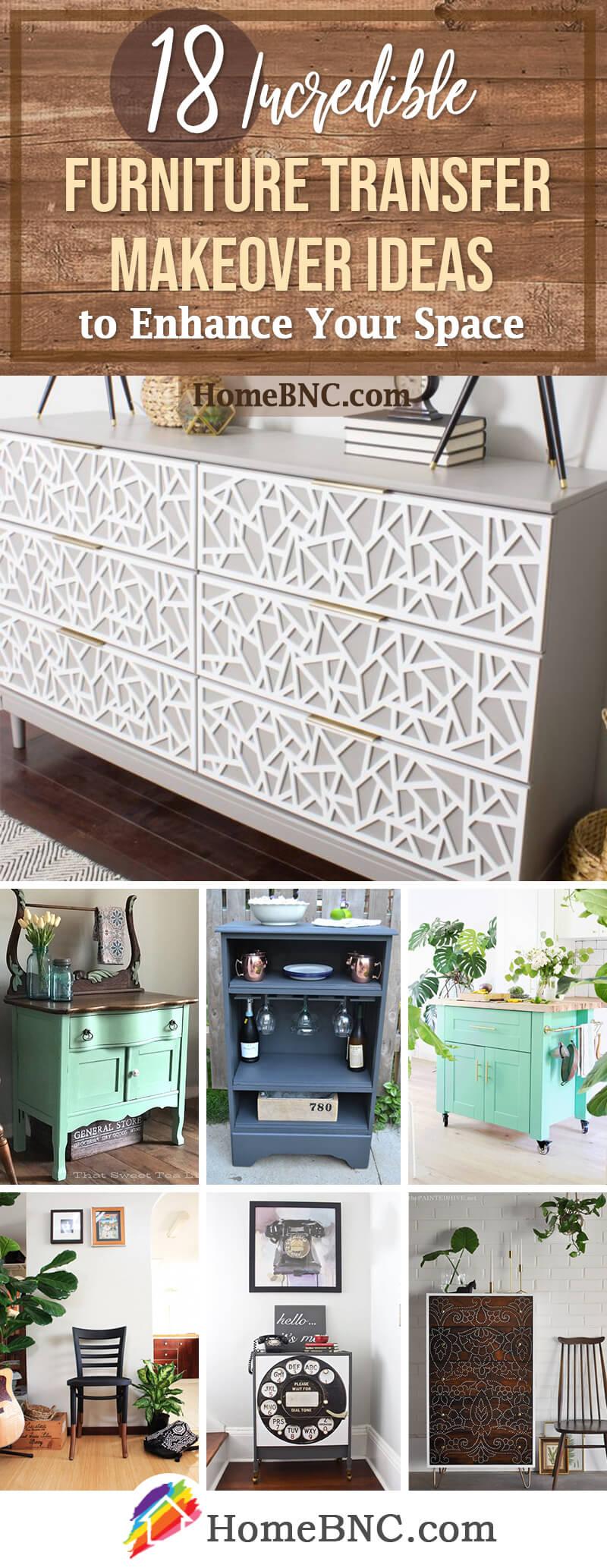 Best Furniture Transfer Makeover Ideas