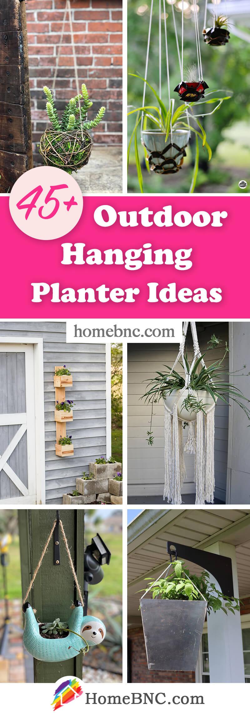 Outdoor Hanging Planters