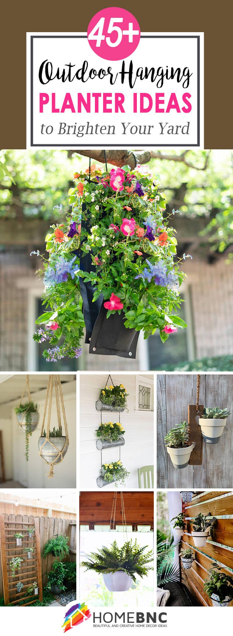 Best Outdoor Hanging Planter Ideas