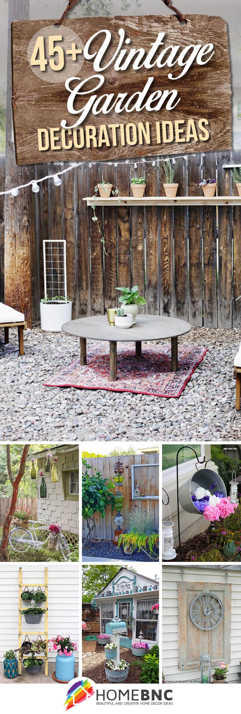 Vintage Garden Decorations