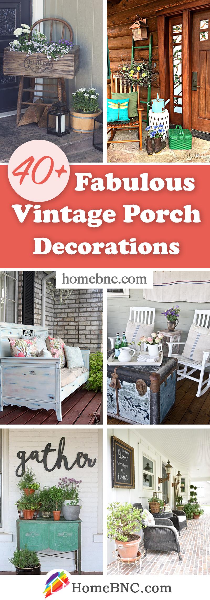 Vintage Porch Decor Ideas