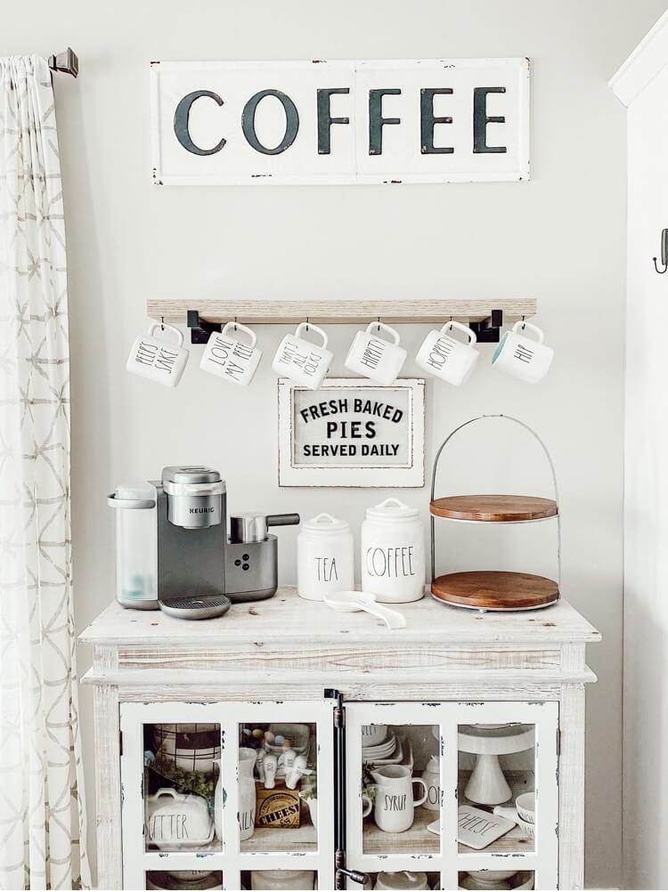 Modern Farmhouse Dunn Decor Coffee Station