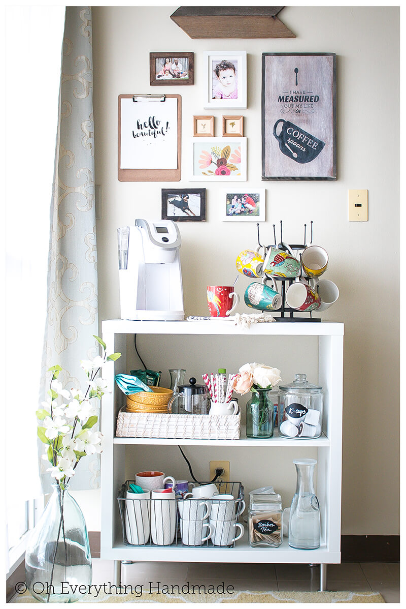 Small Space Coffee Corner for the Home