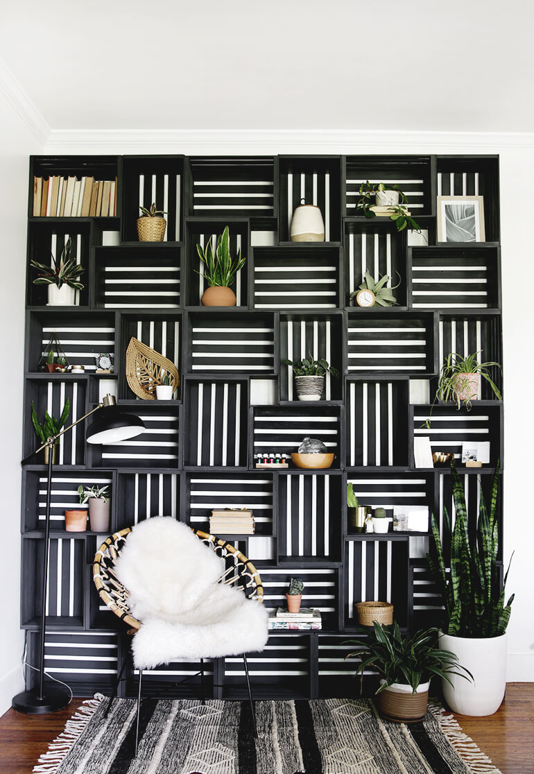 Make a Shelf Statement in Your Living Room