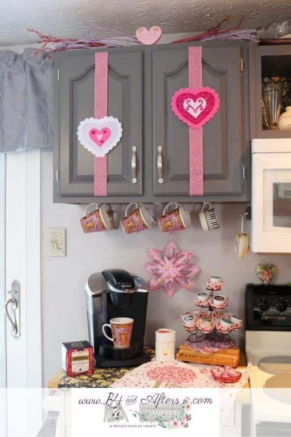 Hearts on Fire Valentine Coffee Station Celebration