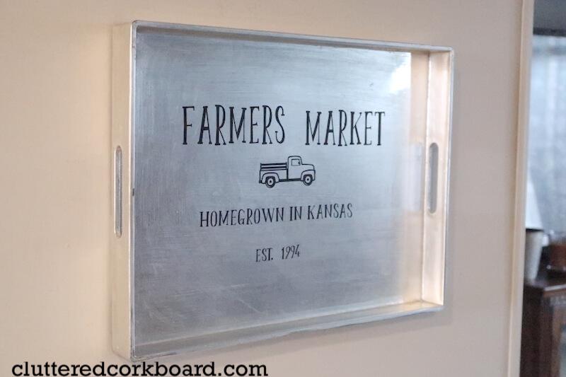 Farmer's Market Tray Wall Art