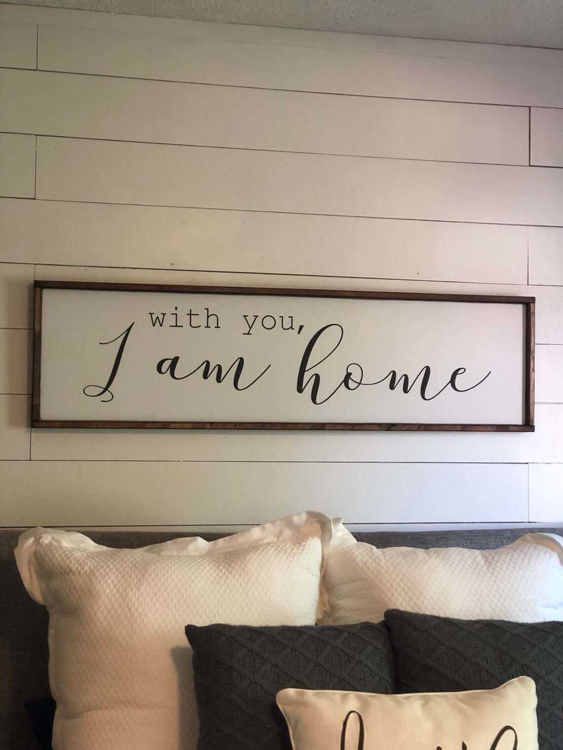 Comfy and Casual At Home Wall Sign