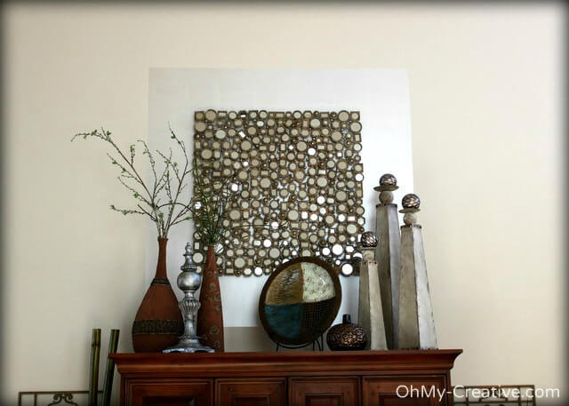 Using Paint to Frame Your Wall Art