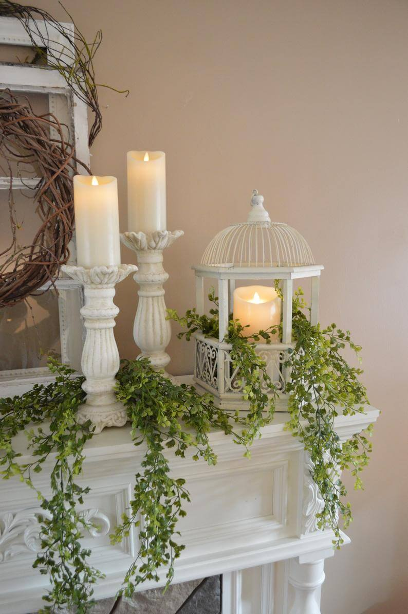 Cascading Greenery Summer Home Decoration