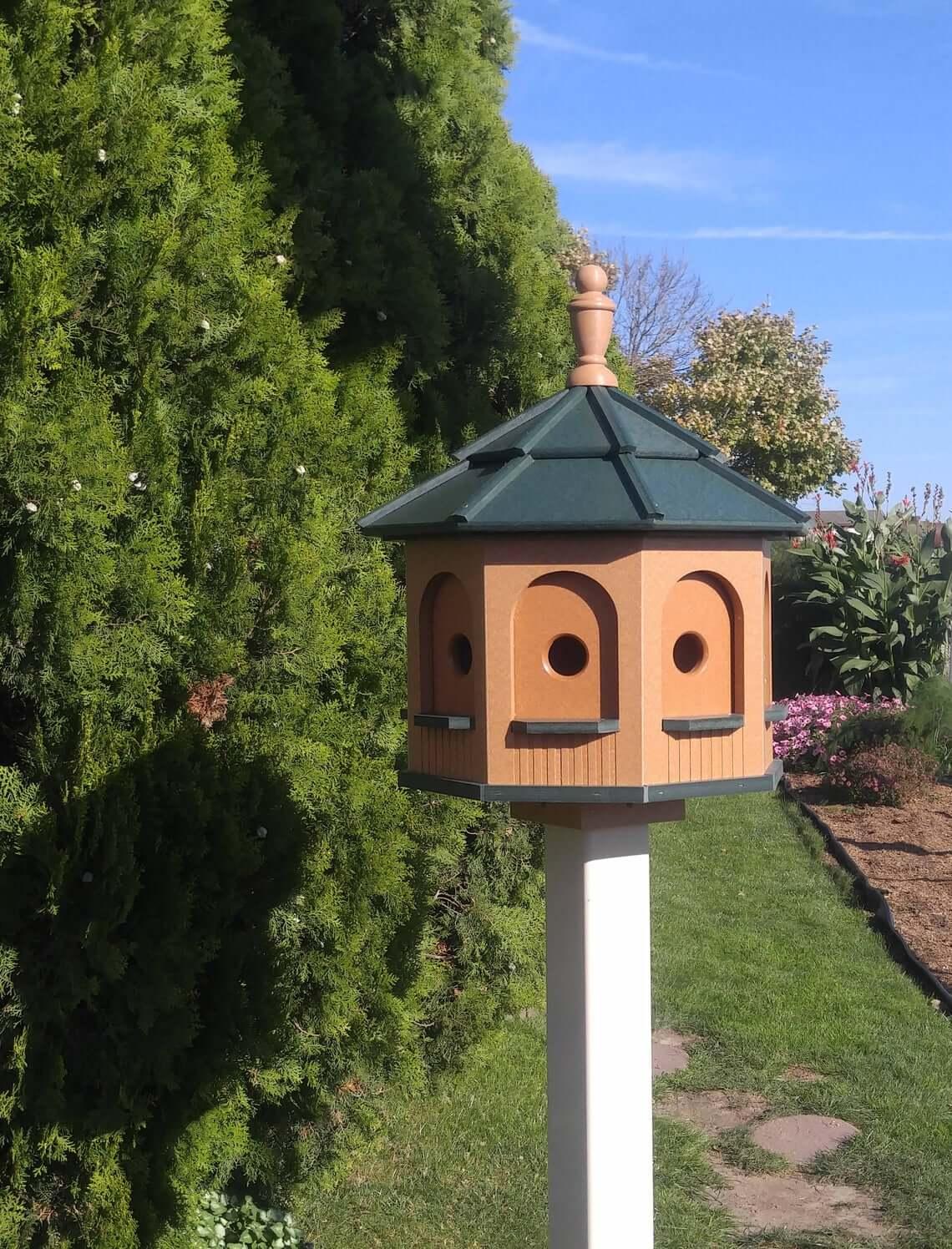 Extra Large Eight-Room Octagon Birdhouse