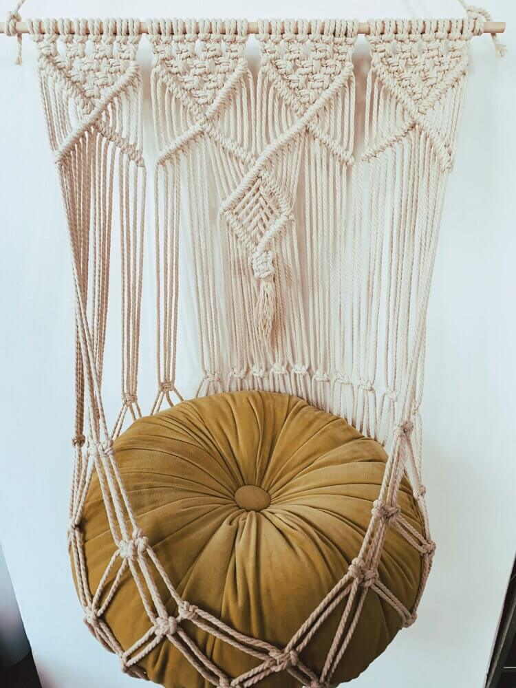 Unique Macrame Cat Hangout Hammock
