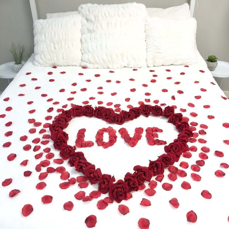 Sprinkle Love in the Bedroom with Roses