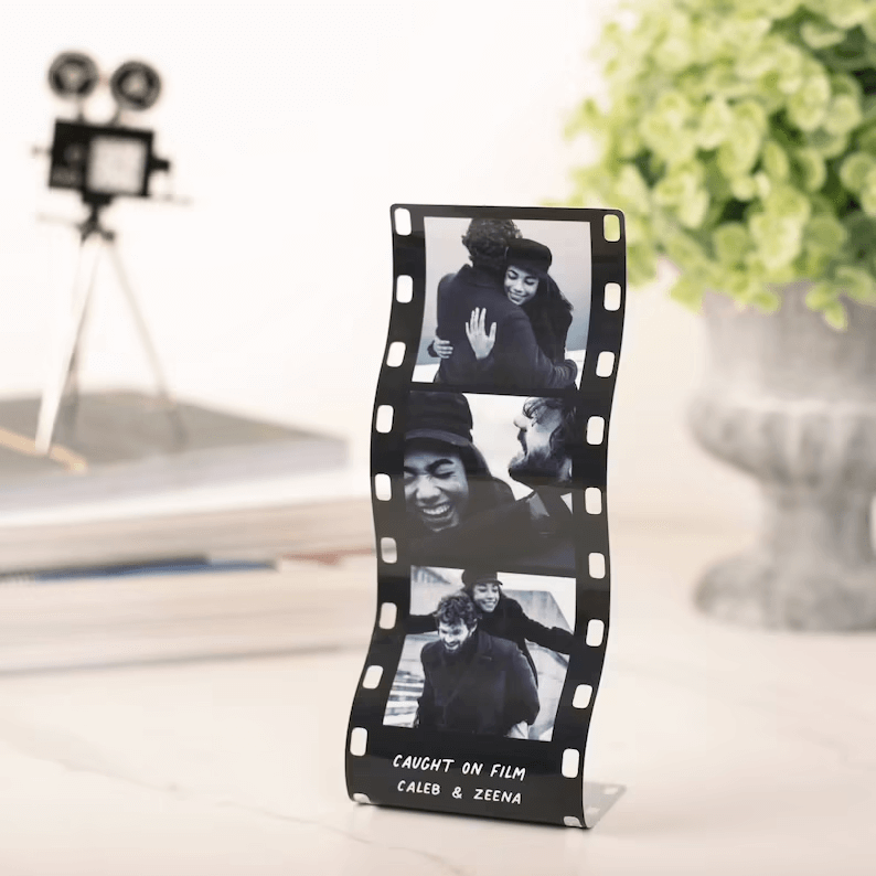 Cute Candid Metal Photo Booth Picture Display