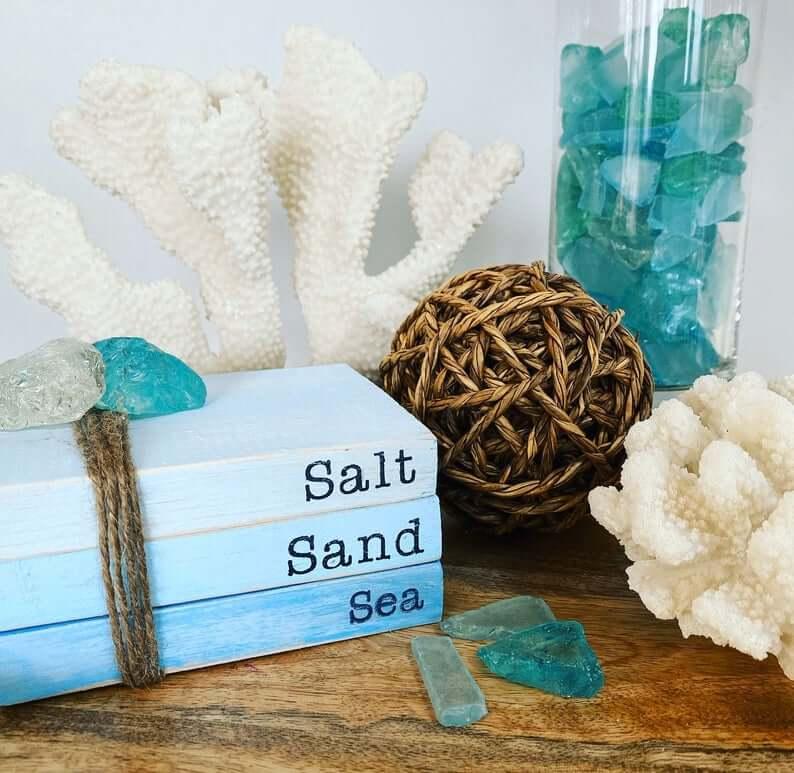 Salt, Sand, & Sea Beachy Decor
